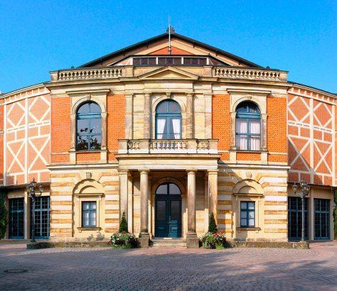 Bayreuth Festspielhaus. Teatro Wagner