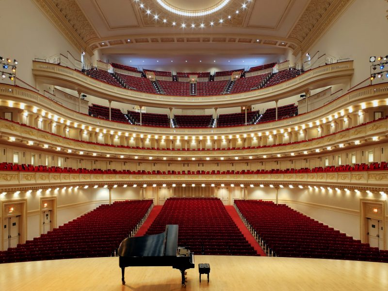 Sala Carnegie Hall, New York