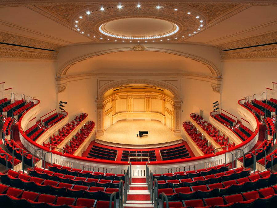 Main Hall, Carnegie Hall, New York