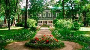 Casa de la finca princiapal. Museo-Casa Chaikovski, Klin
