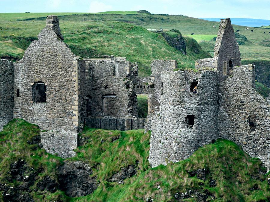 Dunluce Castle, Irlanda