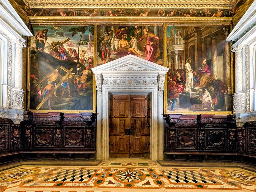 Sala dell'Albergo. Scuola Grande di San Rocco