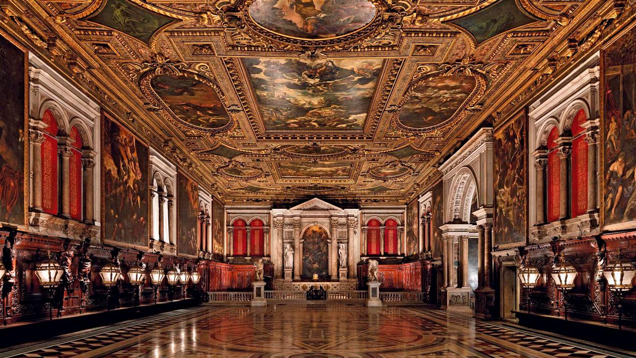 Sala Capitulare. Grande di San Rocco, Venezia
