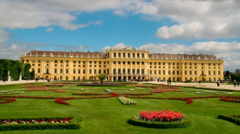 Palacio de Schonbrunn, Viena.