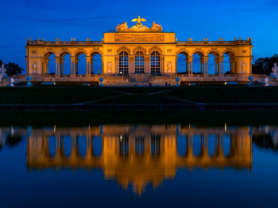 Jardines Palacio de Schonbrunn, Viena.