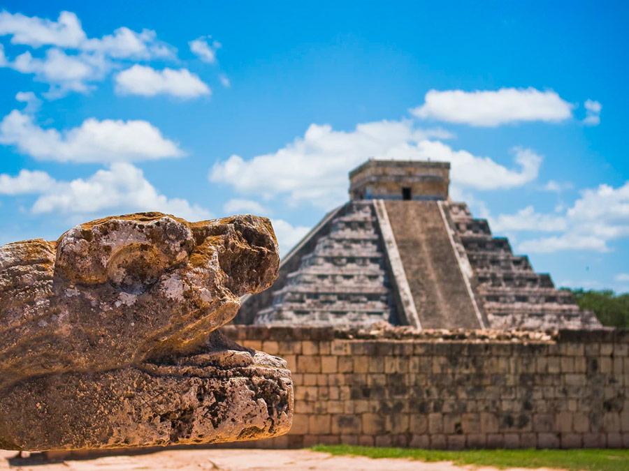 Sitio arqueológico de Chichén Itza, Yucatán