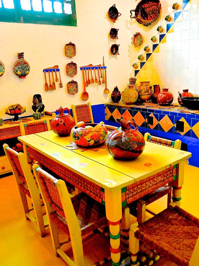 Cocina Casa Azul. Frida Kahlo