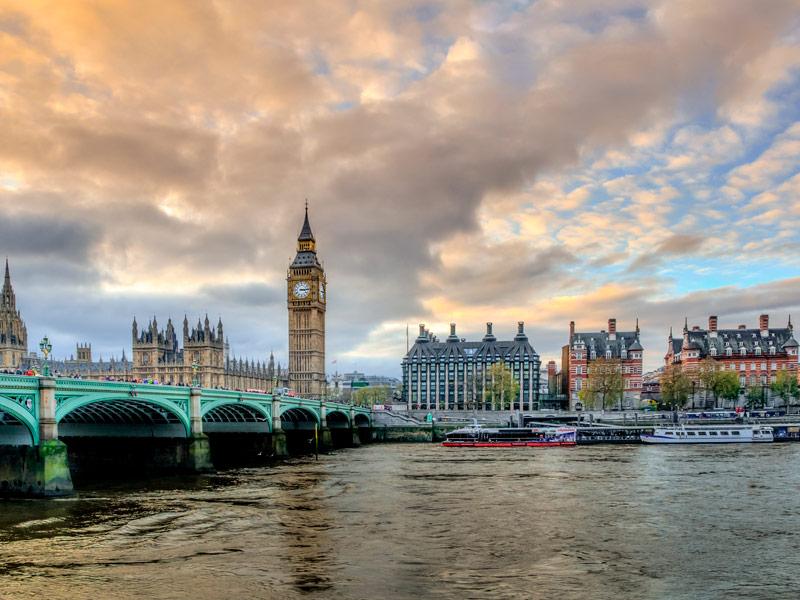 Big Ben y el Parlamento