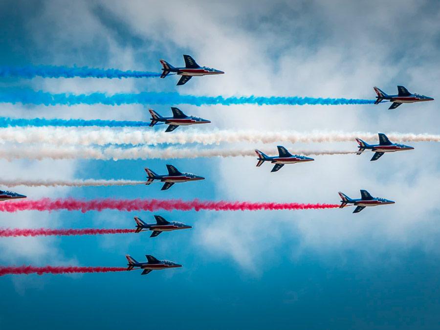 Desfile militar del día de la Bastilla, Paris