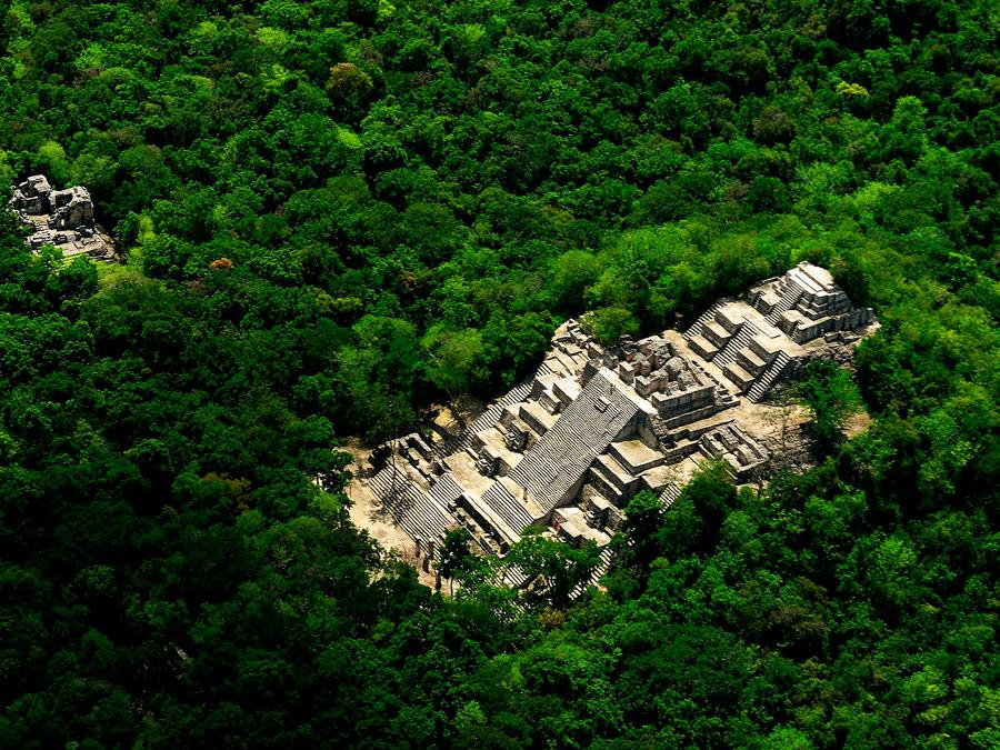 Sitio arqueológico de Calakmul, Campeche