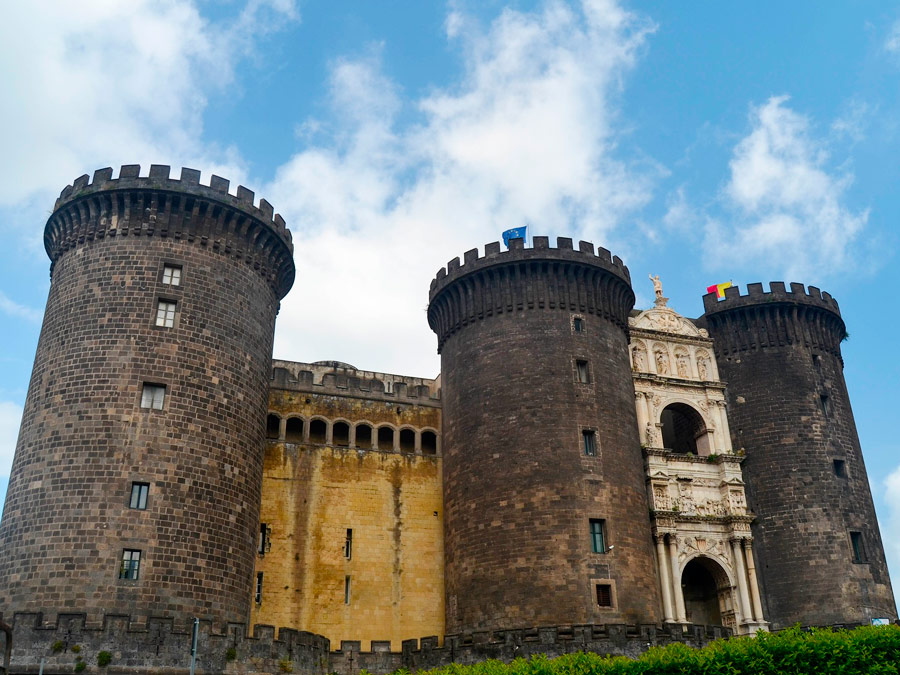 Castel Nouvo, Napoles, Italia