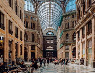 Galeria Umberto I. Nápoles