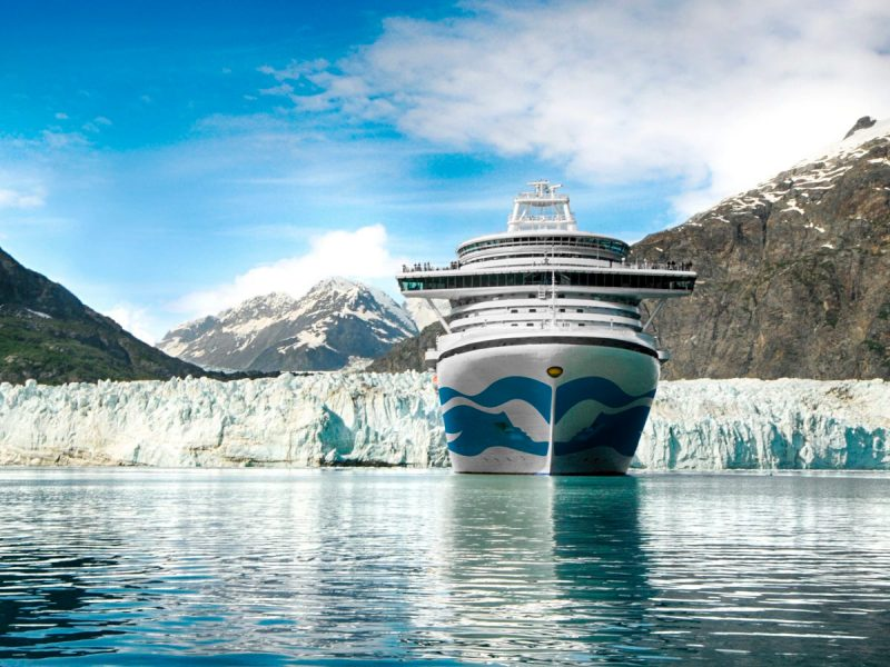 Temporada de cruceros en Alaska