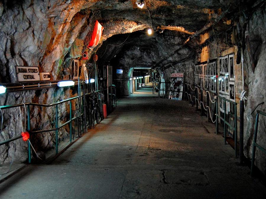 Túneles del asedio. Gibraltar