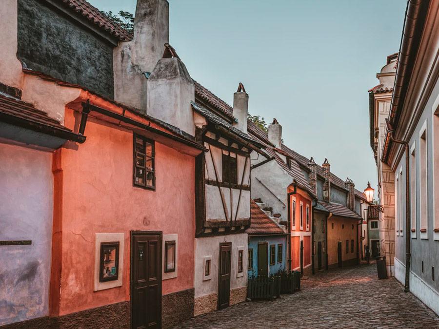 Golden Lane - Castillo de Praga