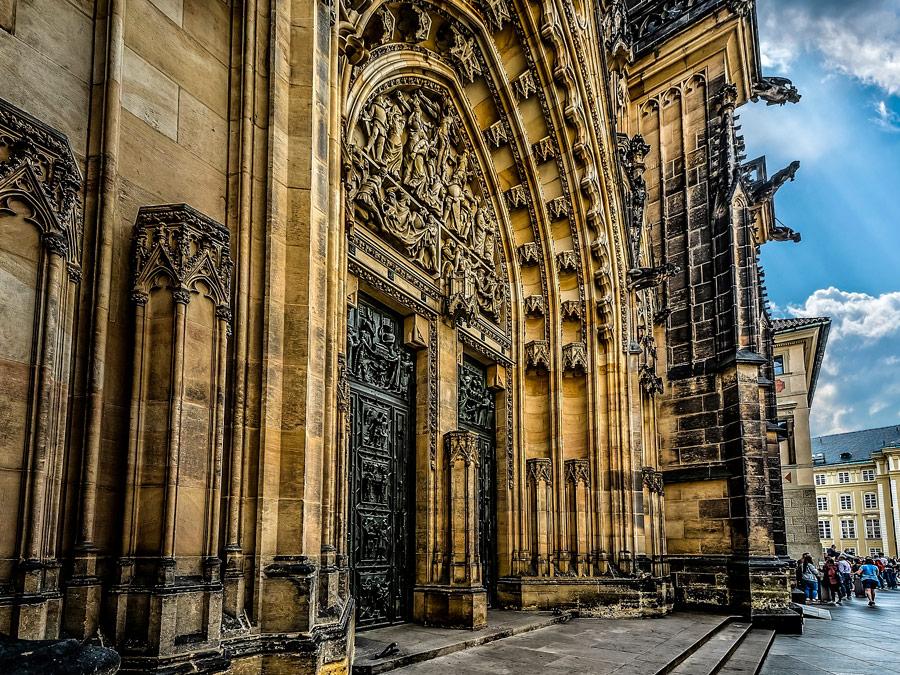 Fachada Catedral de San Vito, Praga