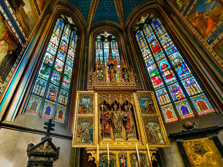 Catedral de San Vito - Castillo de Praga