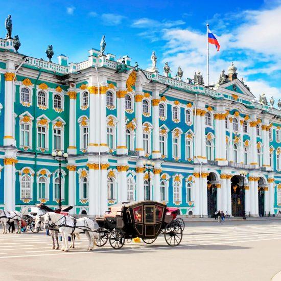 Palacio de Invierno - Hermitage, San Petersburgo, Rusia
