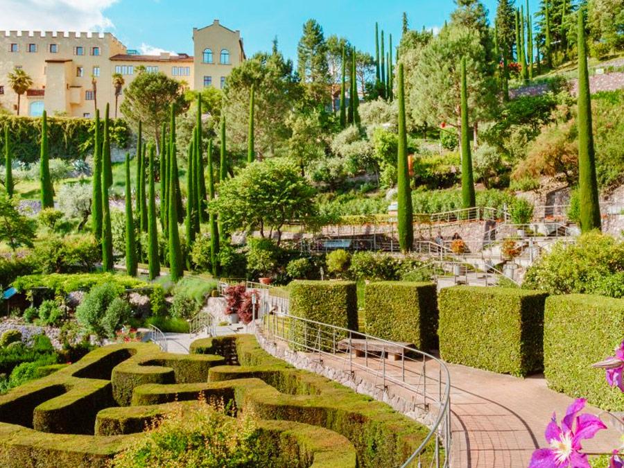 Los jardines del castillo de Trauttmansdorff