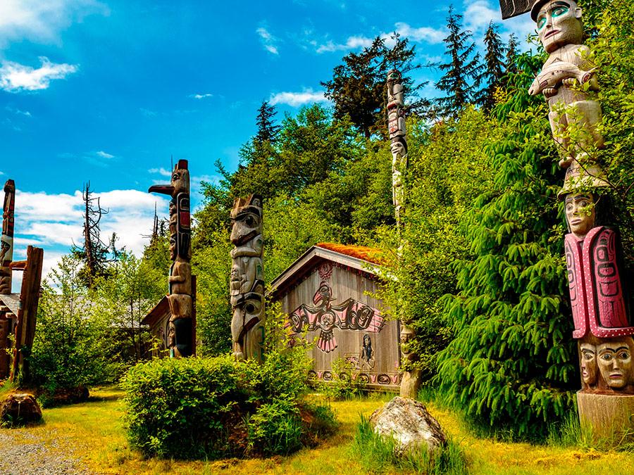 Totem Bight Park, Ketchikan, Alaska