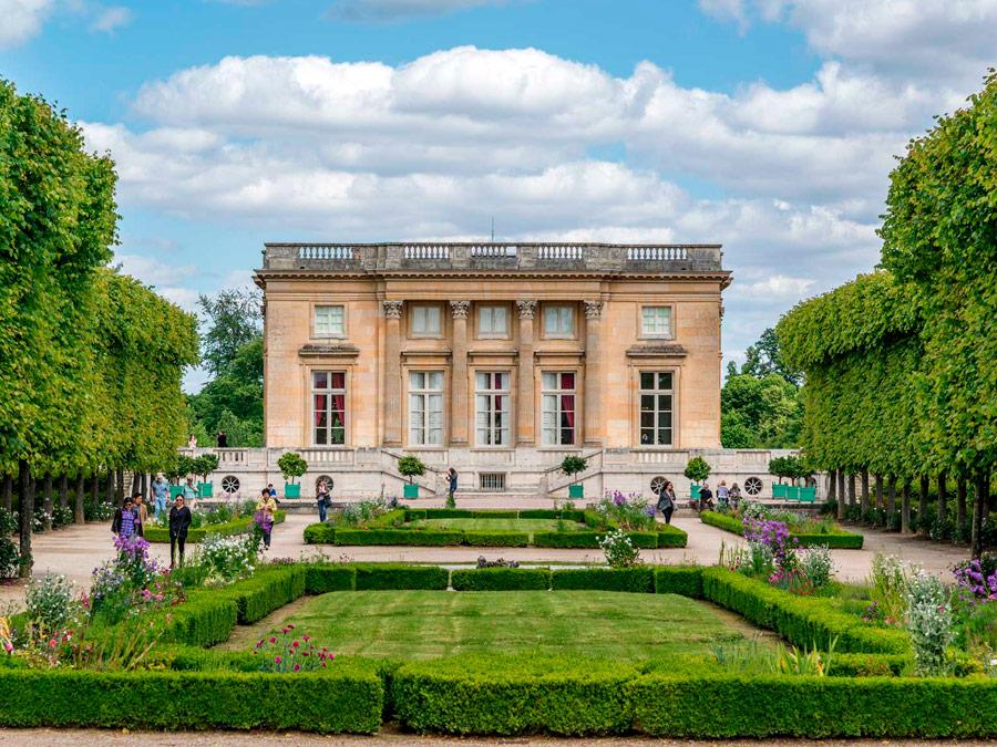 Jardín de María Antonieta en Versailles