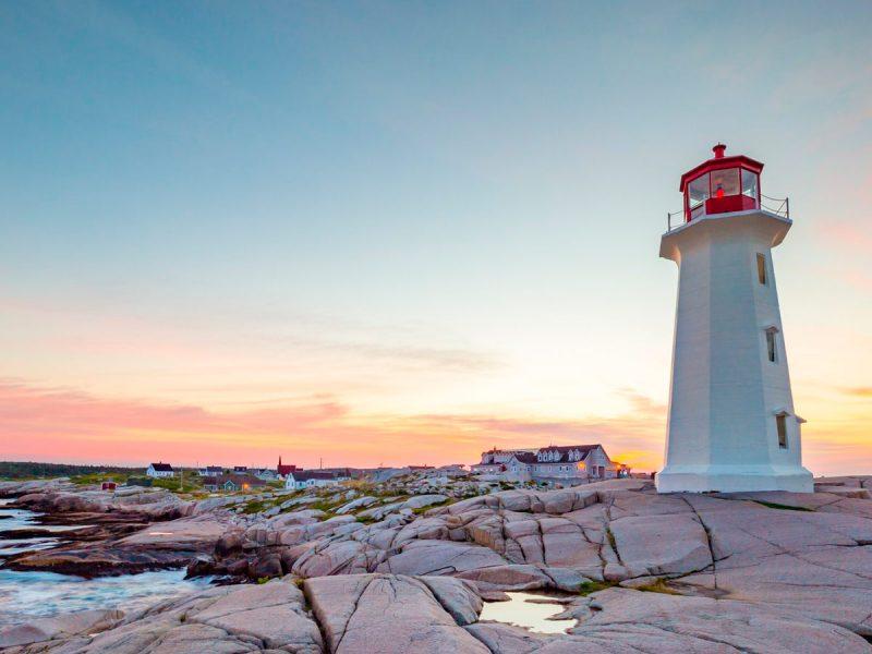 Peggy's Cove, Halifax Canadá