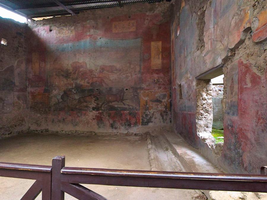 Visita virtual de la Casa de Ceii, Pompeya