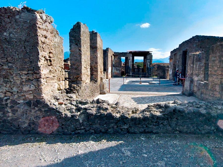 Casa del Fauno, Pompeya