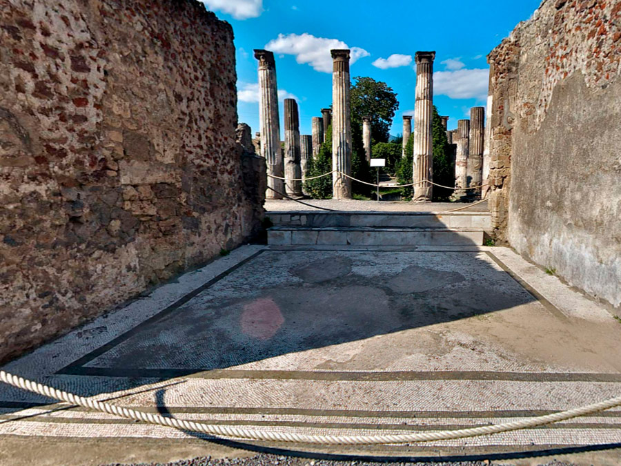 Casa de Pansa, Pompeya
