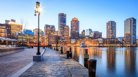 Boston, Massachusetts. Seaside