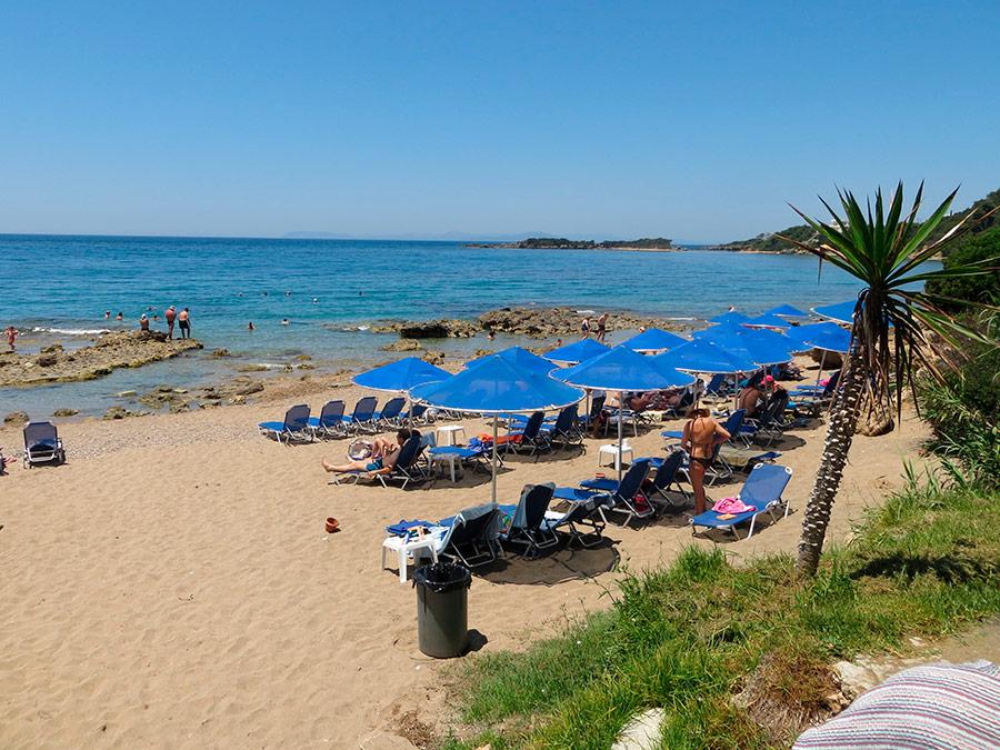 Playa St. Andreas Beach, Katakolon, Grecia