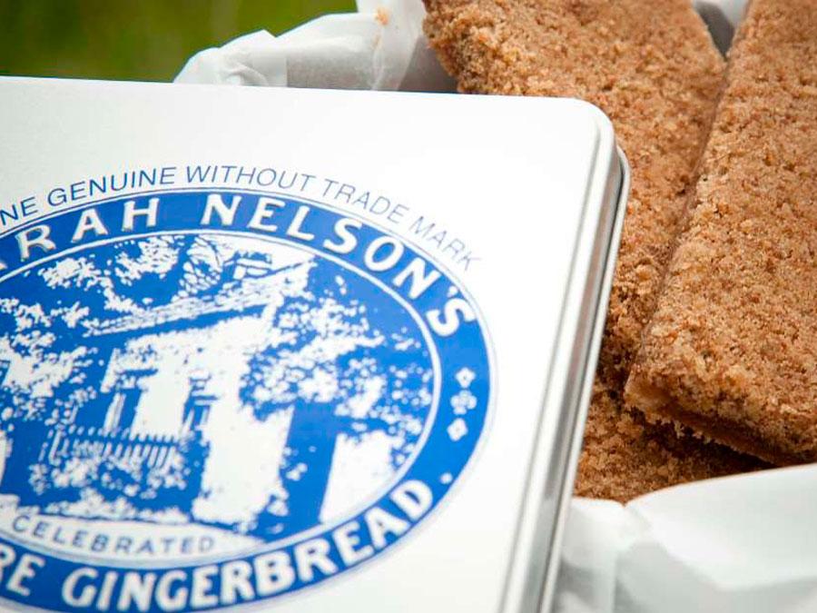 Típico Gingerbread (pan de jengibre) de Grasmere