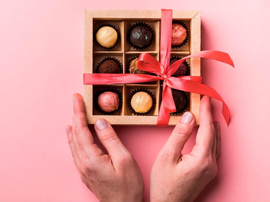Chocolates de San Valentin