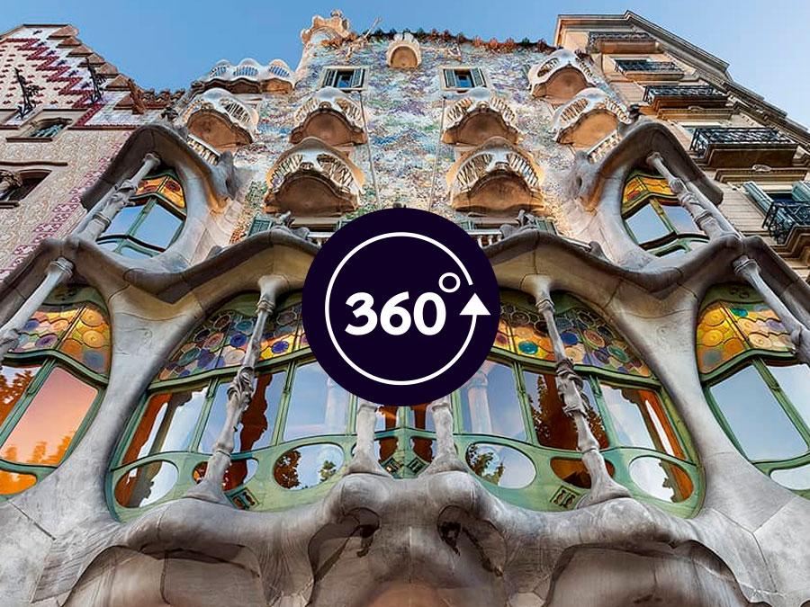 Casa Battló Barcelona - Fachadas e ingreso