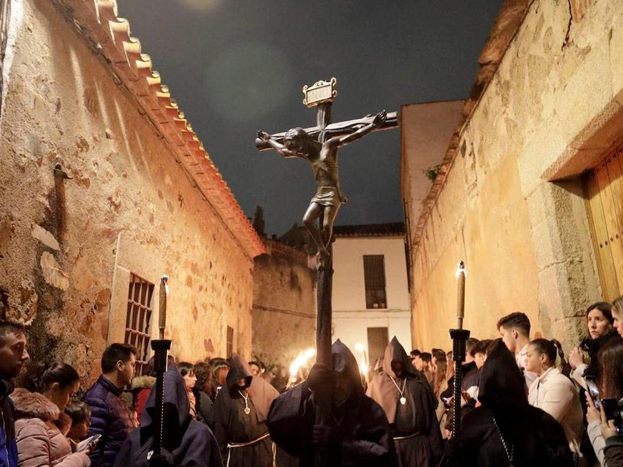 Semana Santa en Caseres, Cristo Negro