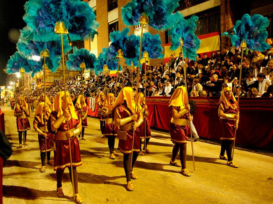 Semana Santa en Lorca con desfile egipcio
