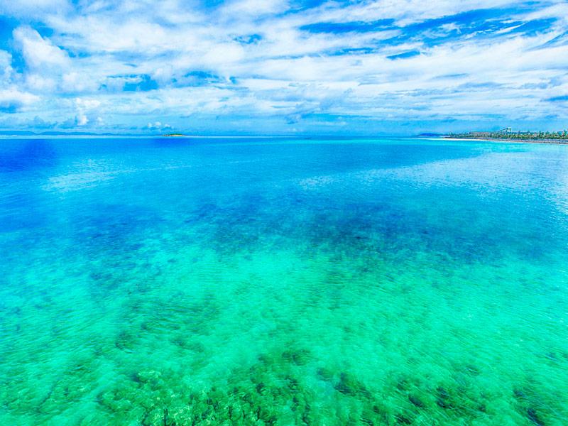 Playa Emerald, Okinawa, Japón