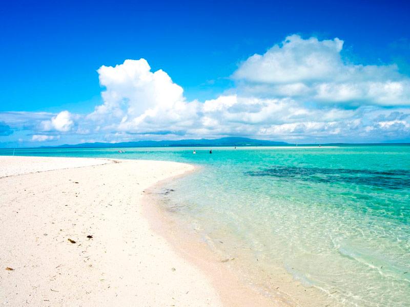 Playa Kondoi, Okinawa, Japón