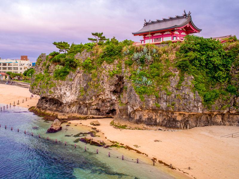Playa Naminoue, Okinawa, Japón