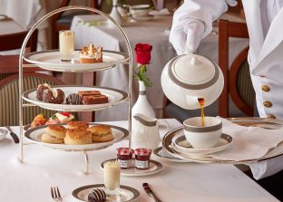El Afternoon tea de Cunard