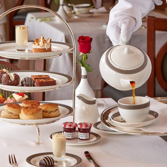 El Afternoon tea de Cunard