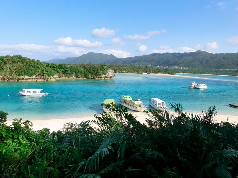 Playas de la isla de Ishigaki, Okinawa, Japón