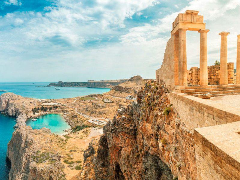 Lindos, Acropolis