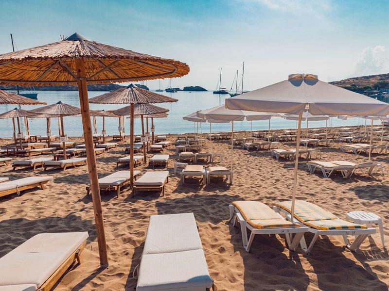 Playas de Lindos, Rodas