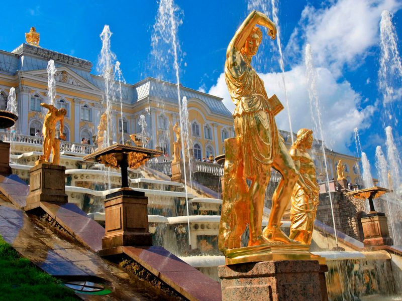 Palacio de Peterhof, San Petersburgo